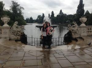 Italian Fountains in Hyde Park