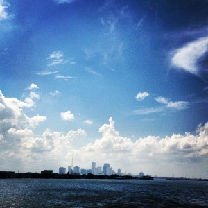 New Orleans from a distance