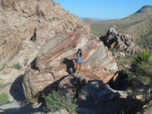 Me at Red Rock Canyon just outside Vegas...worth seeing when you're there